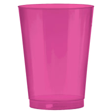 Amscan Plastic Cups 10 Oz Bright