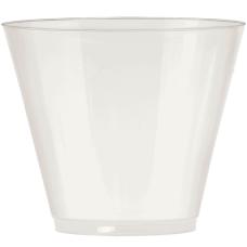 Amscan Plastic Cups 9 Oz Pearl