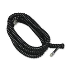 Softalk Phone Coil Cord 25 Black