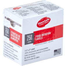 Cambro Half Size Food Rotation Labels