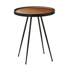 Adesso Baldwin End Table Round 22