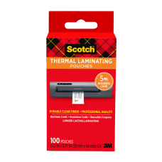 Scotch Thermal Laminating Pouches for Business