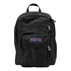 JanSport Big Student Laptop Backpack Black