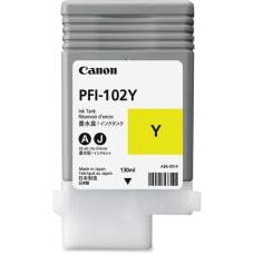 Canon PFI 102Y Original Ink Cartridge
