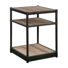 Sauder Barrister Lane Side Table Square