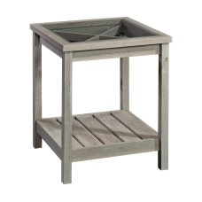 Sauder Cottage Road Side Table Square