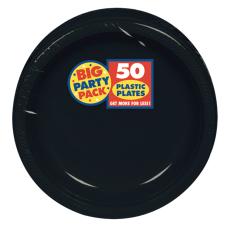 Amscan Plastic Dessert Plates 7 Jet