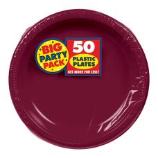 Amscan Plastic Dessert Plates 7 Berry