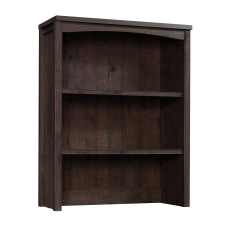 Sauder Costa Library Hutch Coffee Oak