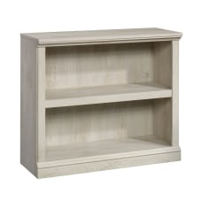 Sauder Select Bookcase 2 Shelf Chalked