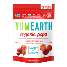 Yummy Earth Organic Lollipops 42 Oz