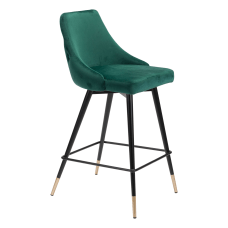 Zuo Modern Piccolo Counter Chair GreenBlack