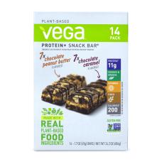 Vega Protein Snack Bars Chocolate Peanut