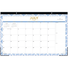 Blue Sky Day Designer Monthly Desk