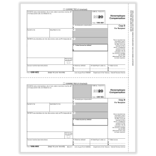 ComplyRight 1099 NEC Tax Forms Recipient