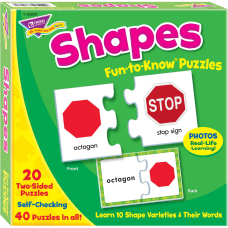 Trend Shapes Puzzle Set 340 Piece