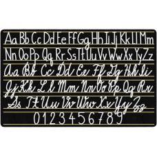 Flagship Carpets Handwriting Sampler Area Rug