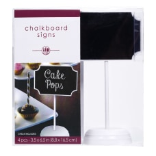 Amscan Cocktail Chalkboard Stands 6 12