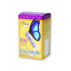 FreeStyle Sterile Lancets 28 Gauge Box