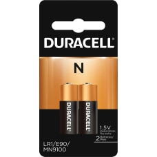 Duracell Coppertop N Alkaline Batteries For