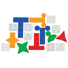 Learning Resources Folding Geometric Shapes And