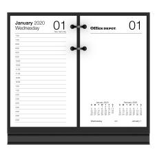 Office Depot Brand Daily Desk Calendar