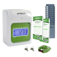uPunch Electronic Non Calculating Time Clock