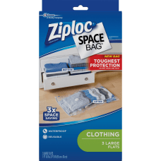 Ziploc Clothing Space Bag Jumbo Size