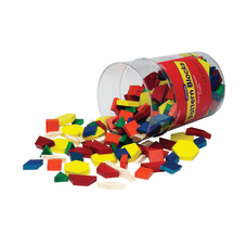 Learning Resources Wood Pattern Blocks 5