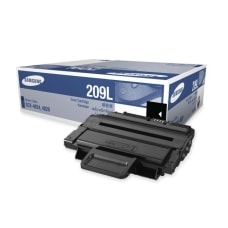 Samsung MLT D209L Black Toner Cartridge