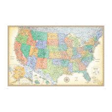 Rand McNally Classic US Wall Map