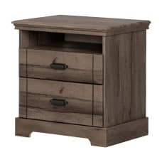 South Shore Avilla 2 Drawer Nightstand
