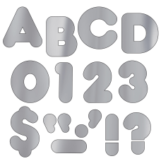 TREND Ready Letters Metallic Casual 4