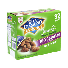 Blue Diamond Almonds On The Go