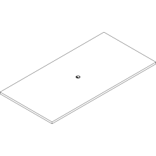 Lorell Prominence 20 Rectangular Conference Tabletop