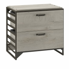 Bush Furniture Refinery 2 Drawer Lateral