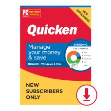 Quicken Deluxe 2021