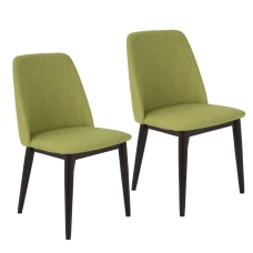 LumiSource Tintori Mid Century Dining Chairs