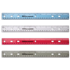 Office Depot Brand Transparent Plastic Ruler