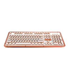 Azio Retro Classic Wireless Keyboard Full