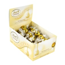 Lindt Lindor White Chocolate Truffles Pack