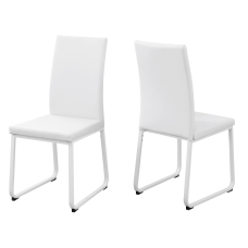 Monarch Specialties Shasha Dining Chairs White