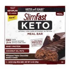 SlimFast Whipped Triple Chocolate Keto Meal