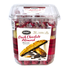 Nonnis Dark Chocolate Almond Biscotti 086