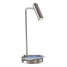 Adesso Kaye Wireless Charging Desk Lamp