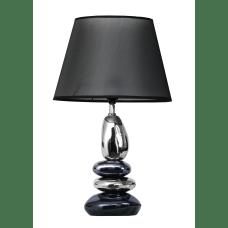 Elegant Designs Metallic Stacked Stone Ceramic