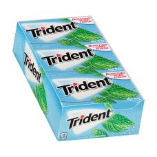 Trident Sugar Free Mint Bliss Gum