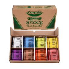 Crayola Classpack Standard Crayons 8 Assorted