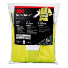 3M Reflective Polyester Safety Vest One