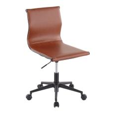 LumiSource Mirage Task Chair CamelBlack